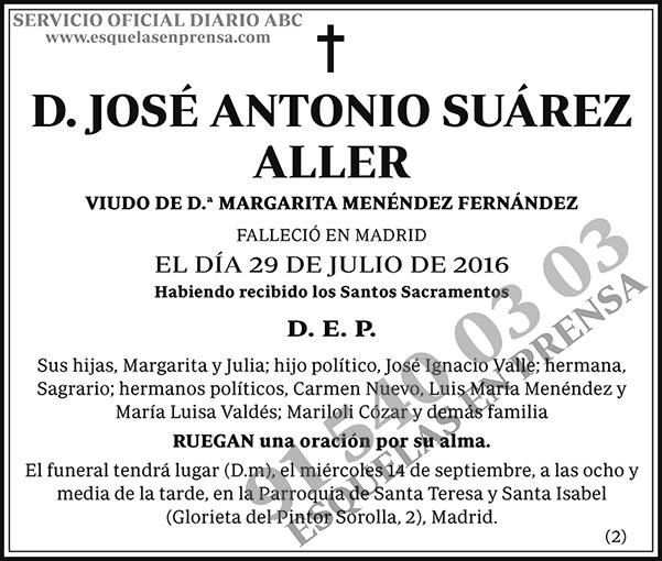 José Antonio Suárez Aller